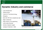 dynamic industry and commerce