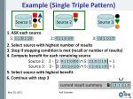 example single triple pattern