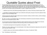 quotable quotes about frost