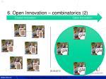6 open innovation combinatorics 2