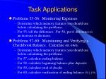 task applications