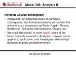 music 348 analysis ii