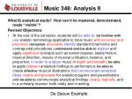music 348 analysis ii1
