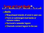 types of coral reefs1