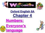 oxford english 8a chapter 4