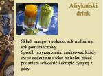 afryka ski drink