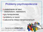 problemy psychospo eczne