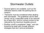 stormwater outlets1