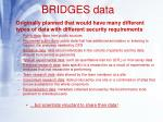 bridges data