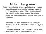 midterm assignment