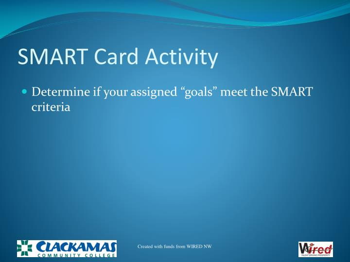 SMART Card Activity