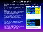 crossroad search