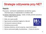 strategie od ywania przy net3