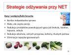 strategie od ywania przy net4