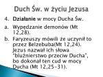 duch w w yciu jezusa2
