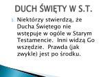 duch wi t y w s t