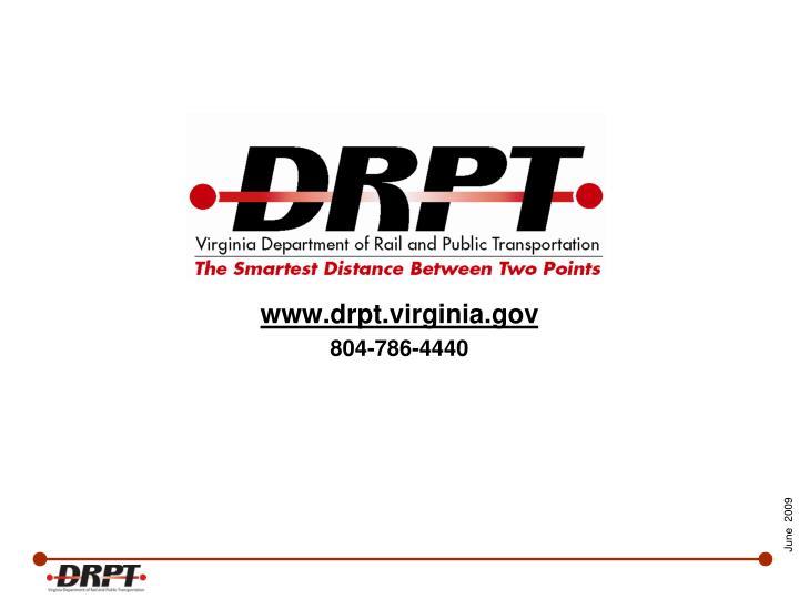 www.drpt.virginia.gov