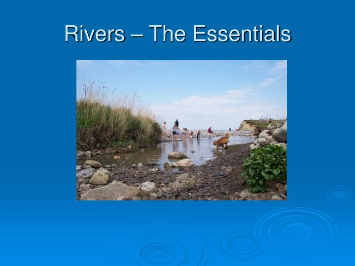 rivers the essentials n.