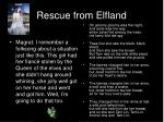 rescue from elfland