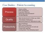 case studies patient accounting