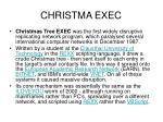 christma exec