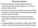 pozicioni paneli