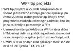 wpf tip projekta