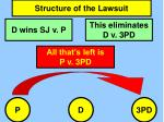 structure of the lawsuit1