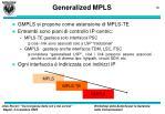 generalized mpls