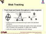 blob tracking