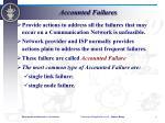 accounted failures
