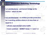 protection switching terminology