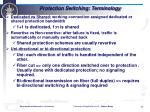 protection switching terminology1