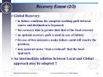 recovery extent 2 2