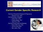 current gender specific research2