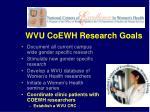 wvu coewh research goals2