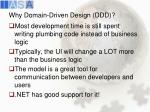 why domain driven design ddd
