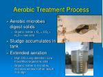 aerobic treatment process