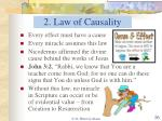 2 law of causality