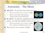 astronomy the moon