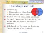 knowledge and truth