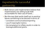 ingredients for successful partnership1