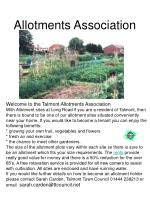 allotments association