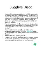 jugglers disco1