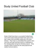 study united football club