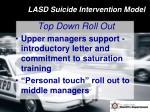 lasd suicide intervention model