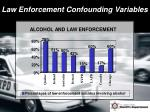 law enforcement confounding variables5