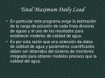 total maximum daily load1