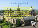 introducing oxford