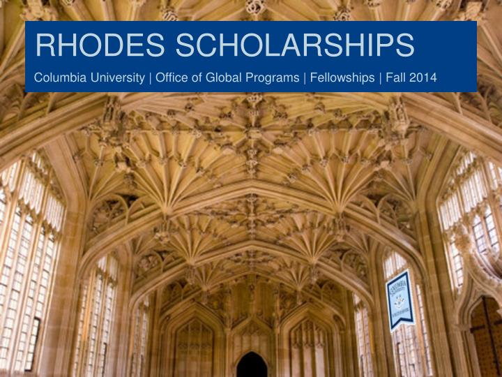 rhodes scholarships n.